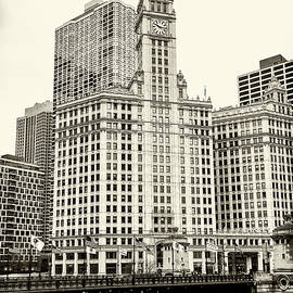 Chicago River and Wrigley Building #1 by Stephen Stookey