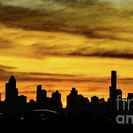 Chicago Skyline Sunrise by Dan Dunn