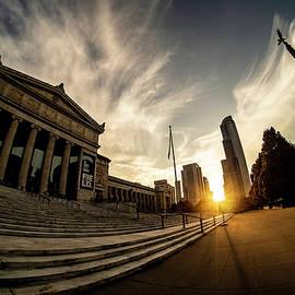 Chicago's Field Museum at sunset by Sven Brogren