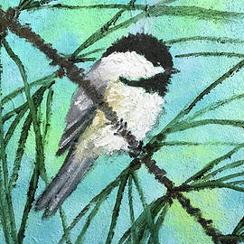 Chickadee # 40 by Kathleen McDermott