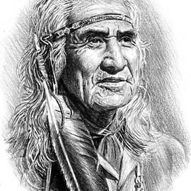Chief Dan George by Andrew Read
