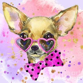 Chihuahua  by Nehemiah Art