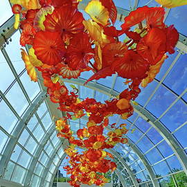 Chihuly Garden and Glass, Seattle, Washington by Lyuba Filatova
