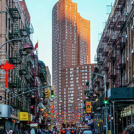 Chinatown Manhattan  L-P 013 by Wei Tang