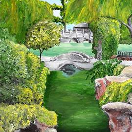Chinese Garden At the Huntington  by Irving Starr