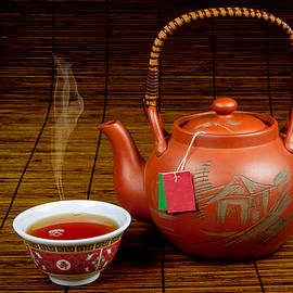 Chinese teapot and cup by Rudy Umans