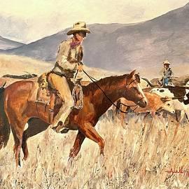 Chisholm Trail by Alan Lakin