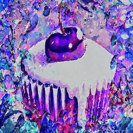 Chocolate Cherry Cupcake by Laurie's Intuitive