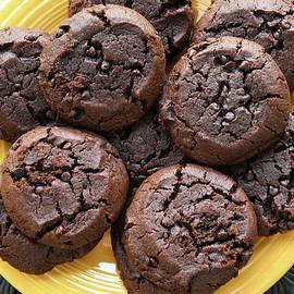 Chocolate Chocolate Chip Cookies by Robert Tubesing