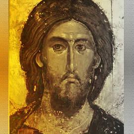 Christ Pantocrator  by Asok Mukhopadhyay