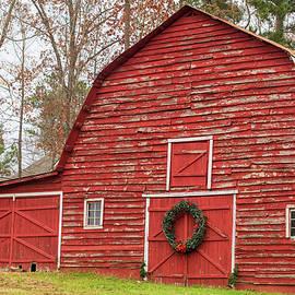 Christmas Barn by Mary Ann Artz