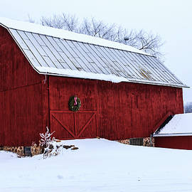 Christmas Barn by Neal Nealis