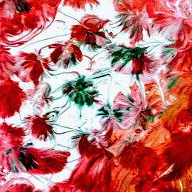 Christmas Floral by Anna Adams