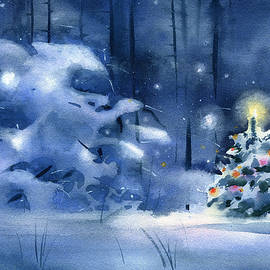Christmas Forest by Dora Hathazi Mendes