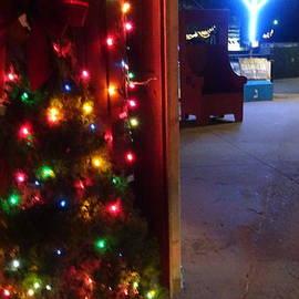 Christmas Hannukah Lights Social Distancing by GJ Glorijean