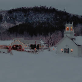 Christmas in New England by Mike Griffiths