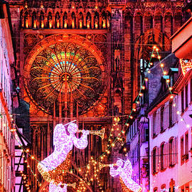 Christmas In Strasbourg by Iryna Goodall