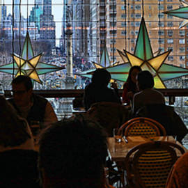 Christmas in the City 32 - Holiday Under The Stars At The Shops At Columbus Circle by Allen Beatty