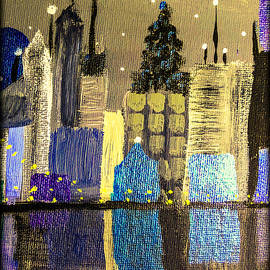 Christmas in the city by Sheri Goodyear