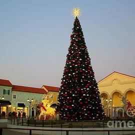 Christmas in the Village Square by Dora Sofia Caputo