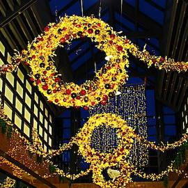 Christmas Lights 1 by Loretta S