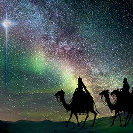 Christmas Star - Magi Follow by Michele Avanti