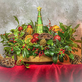 Christmas Still Life by Denis O' Reilly