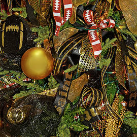 Christmas Tree Football Theme by Sally Weigand