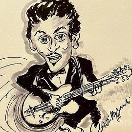 Chuck Berry Johnny B Goode by Geraldine Myszenski