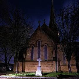 Church In Manchester by Watto Photos