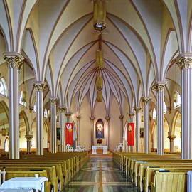Church in Sydney, Canada by Lyuba Filatova