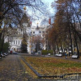 Church of Archangel Michael in Autumn 9 by Anna Yurasovsky