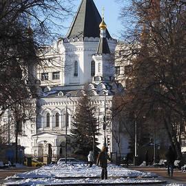 Church of Archangel Michael in Winter 5 by Anna Yurasovsky