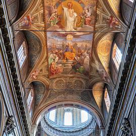 Church of San Rocco Ceiling in Rome by Artur Bogacki