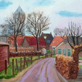 Church path Zalk Holland by Anthony Van Gelder