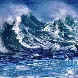 Churning Waves One by Craig Wood