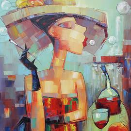 Cigar an whiskey by Narek Qochunc