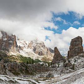 Cinque Torri panorama by Yuri San
