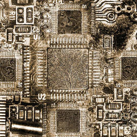 Circuits - Monochromatic by Anthony Ellis
