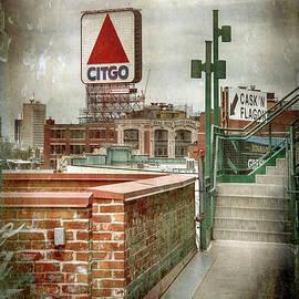 CITGO Sign from Fenway Park by Joann Vitali