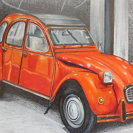 Citroen 2cv by Nicky Chiarello