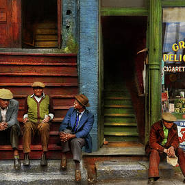 City - Chicago IL - Southside Deli 1941 by Mike Savad