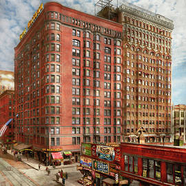 City - Chicago, IL - The Great Northern Hotel 1904 by Mike Savad