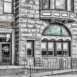 City Hall Detail Selective color by Sharon Popek