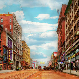 City - Kansas City MO - The Grand Boulevard 1906 by Mike Savad