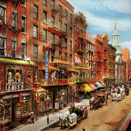 City - New York - Chinatown in 1905 by Mike Savad