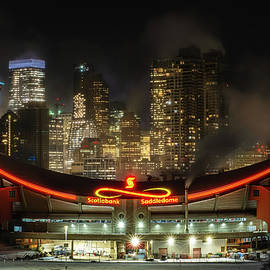 City of Calgary Under a Winter Deep Freeze  by Yves Gagnon
