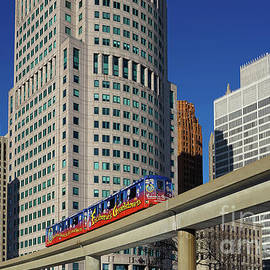 City of Detroit by Jane Tomlin