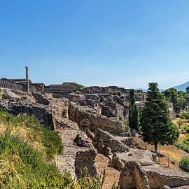 City of Pompeii Ruins in Italy