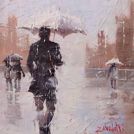 City Rain three by Laura Lee Zanghetti